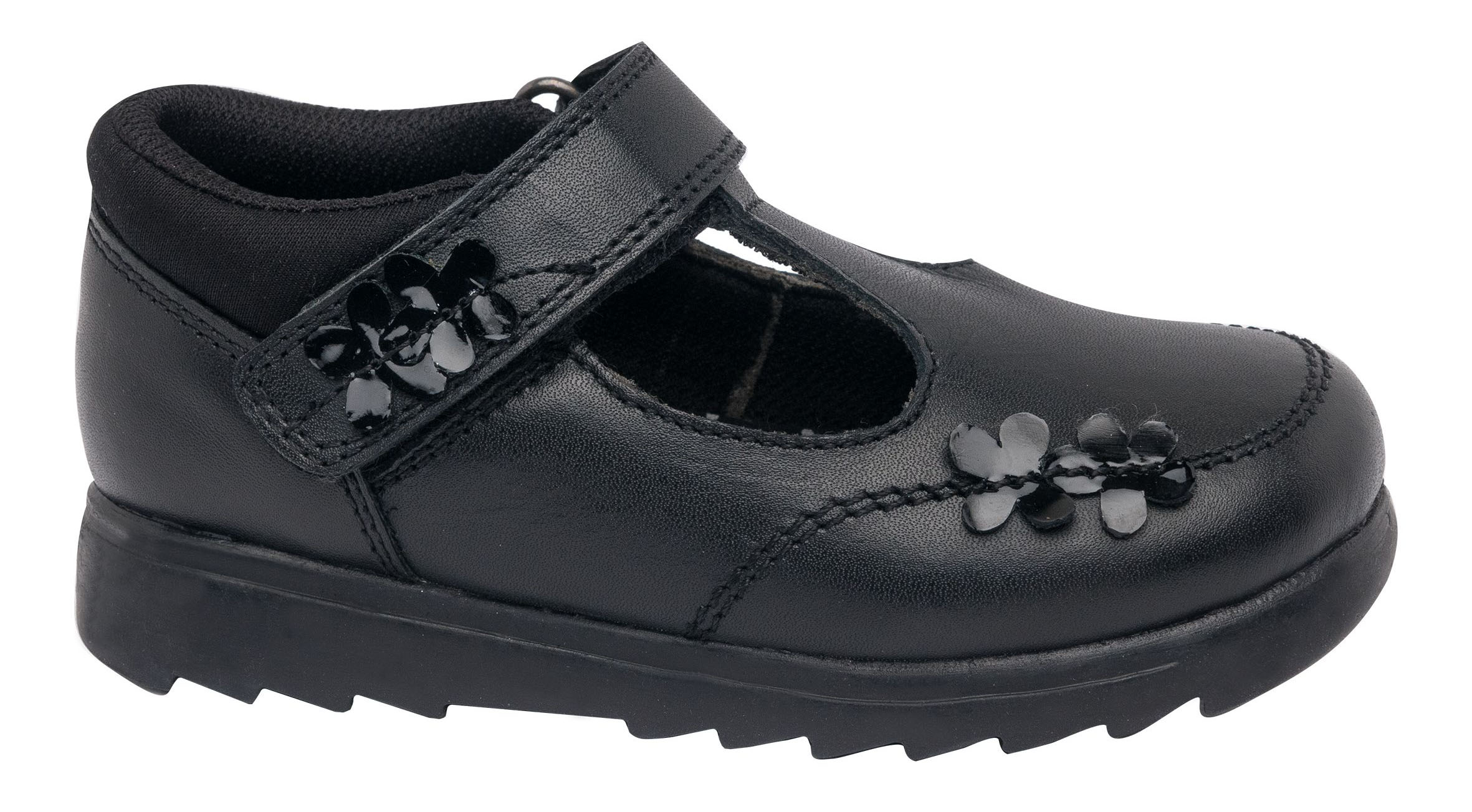 Girl Leather T-bar School Shoes, £17.99 - available on buy one get one half price offer, Deichmann