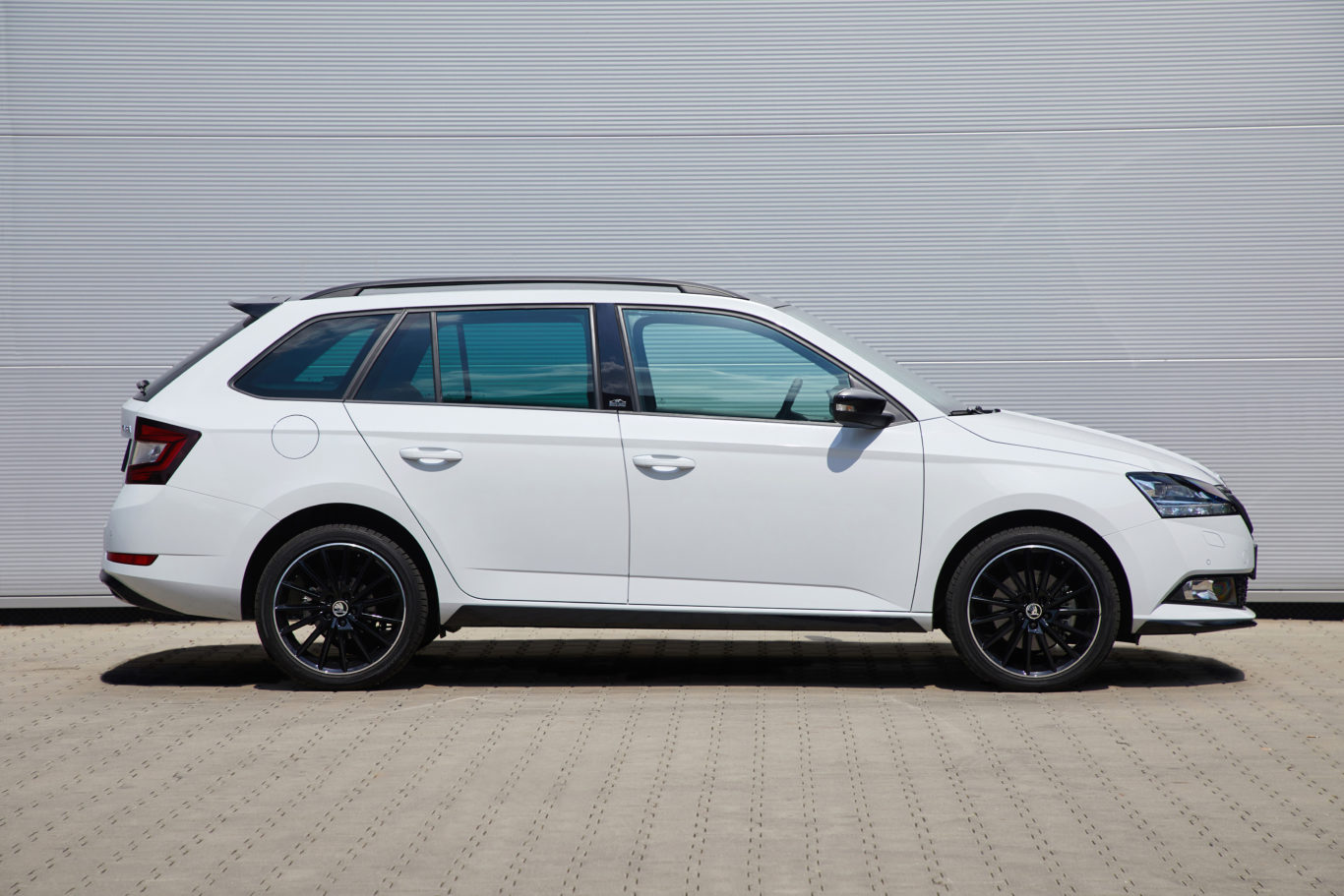 The profile of the estate Fabia is actually quite sleek