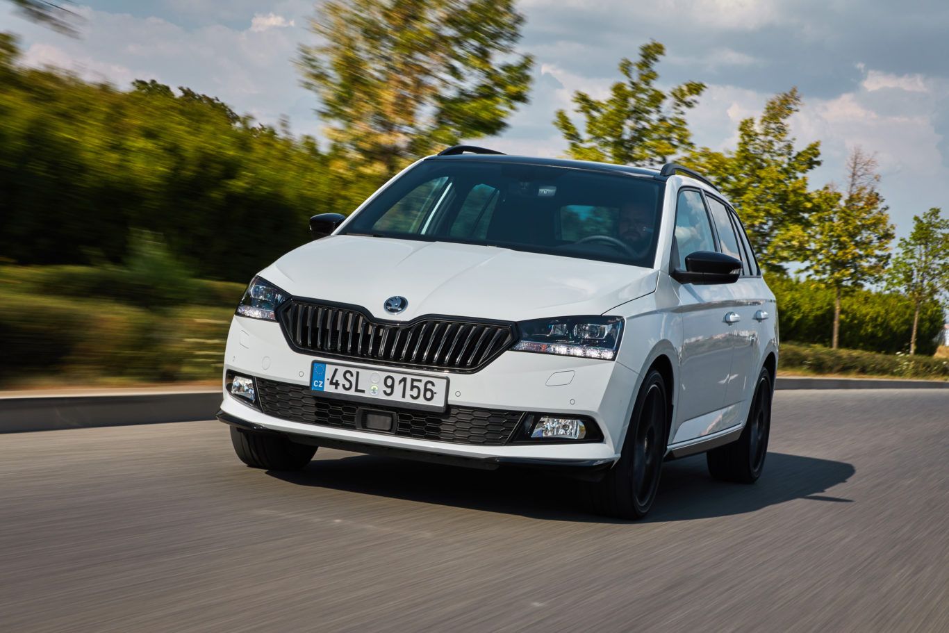 A refreshed front end gives the Fabia a brighter look
