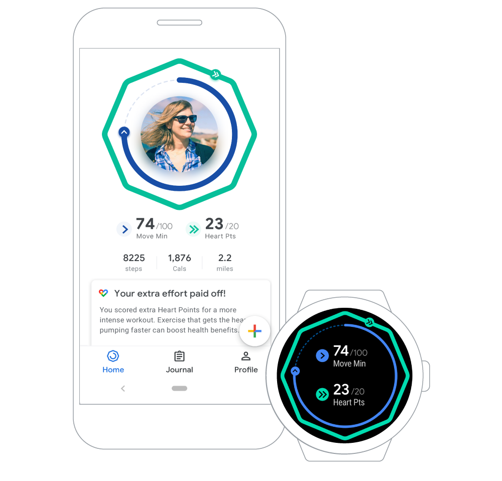 Google Fit Update Aims To Replace 10000 Steps With New Healthier