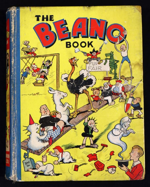 A rare copy of the 1940 Beano annual