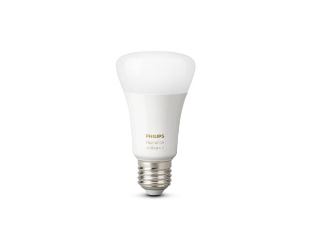 A Philips LED lightbulb. (Philips)