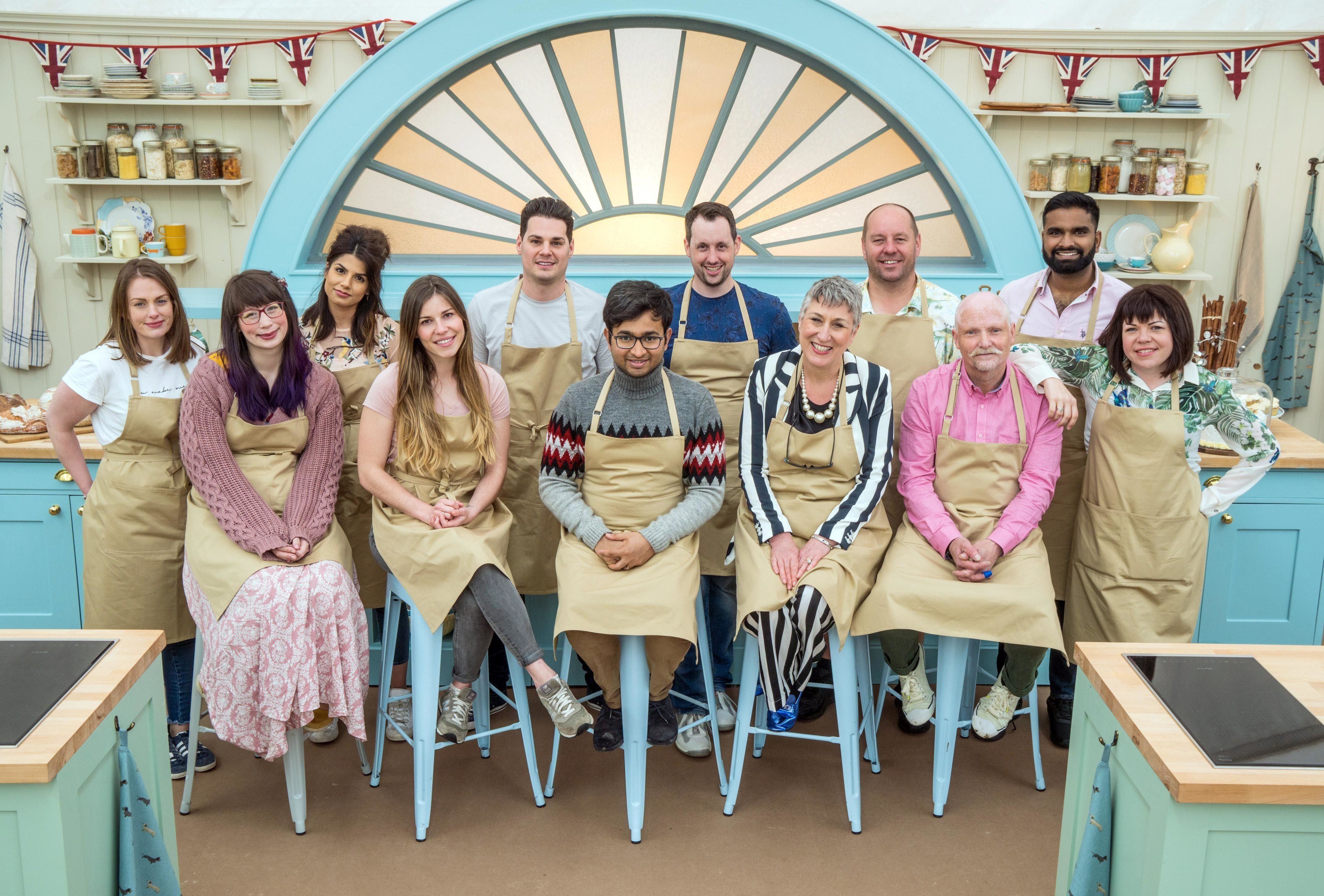 2018 Bake Off contestants