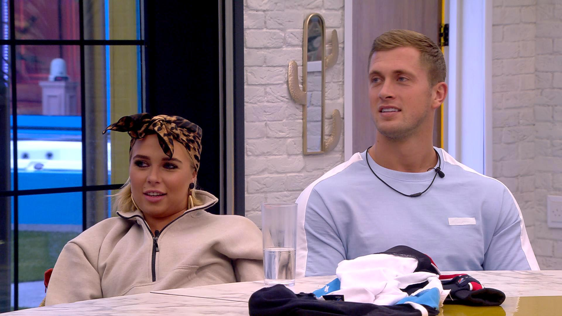 Gabby Allen and Dan Osborne