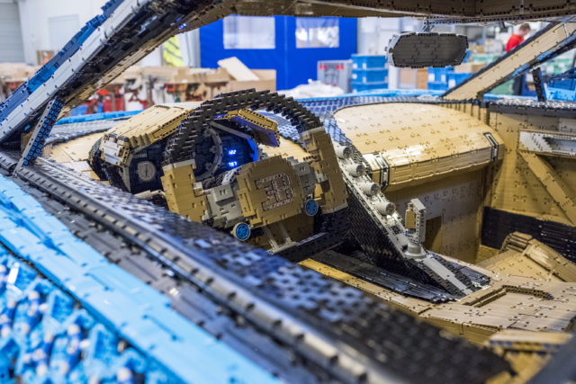 Lego creates full-size, driveable Bugatti Chiron replica   Express & Star