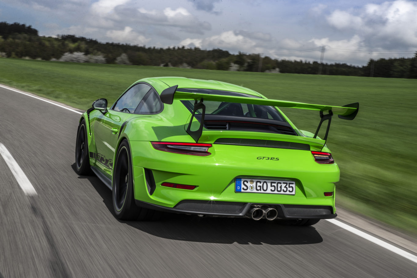 The GT3 RS is a harder, lighter take on the GT3