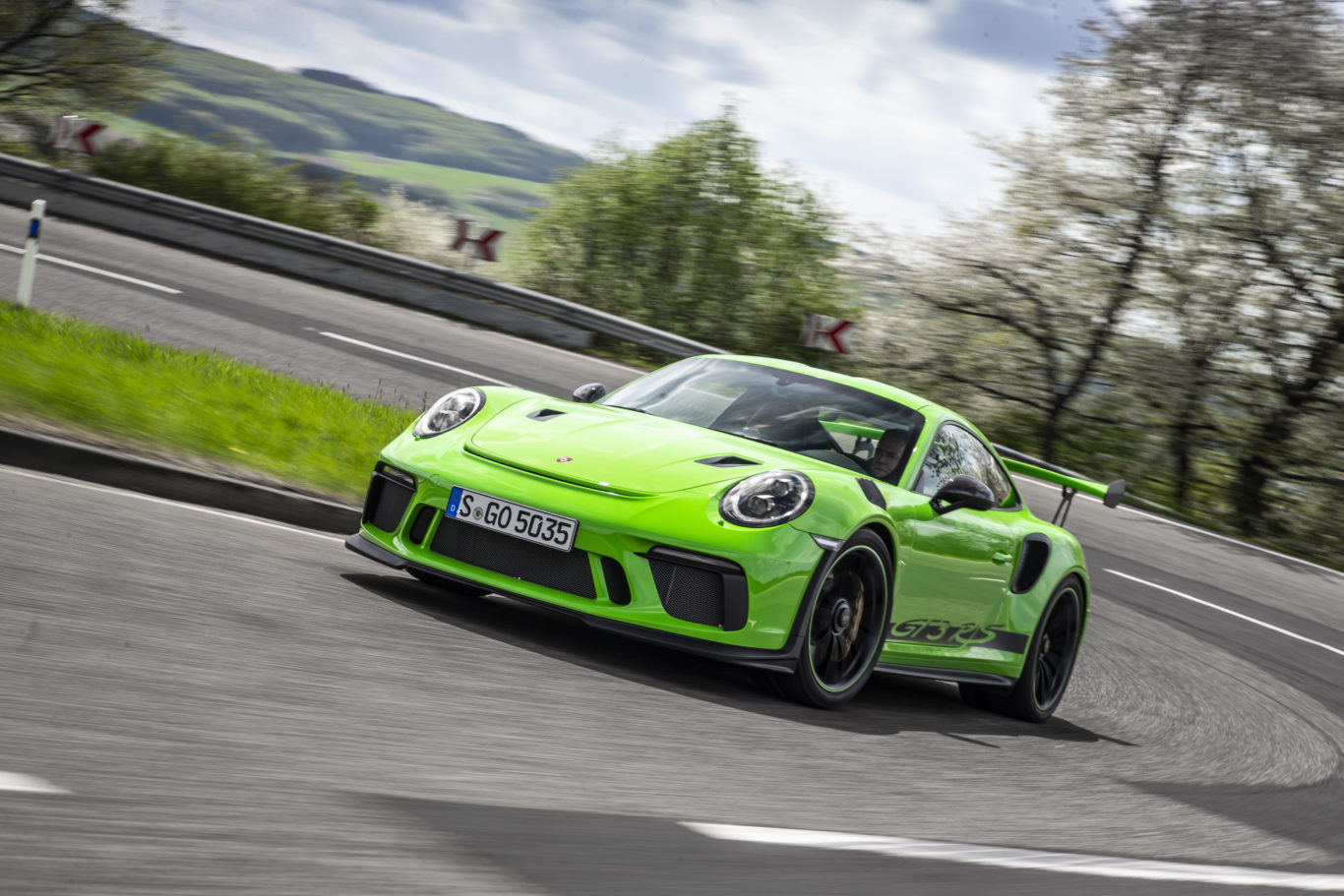 The latest model follows on from a long line of Porsche RS models