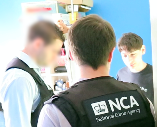 The teenager prompted a security scare in San Francisco (National Crime Agency/PA)