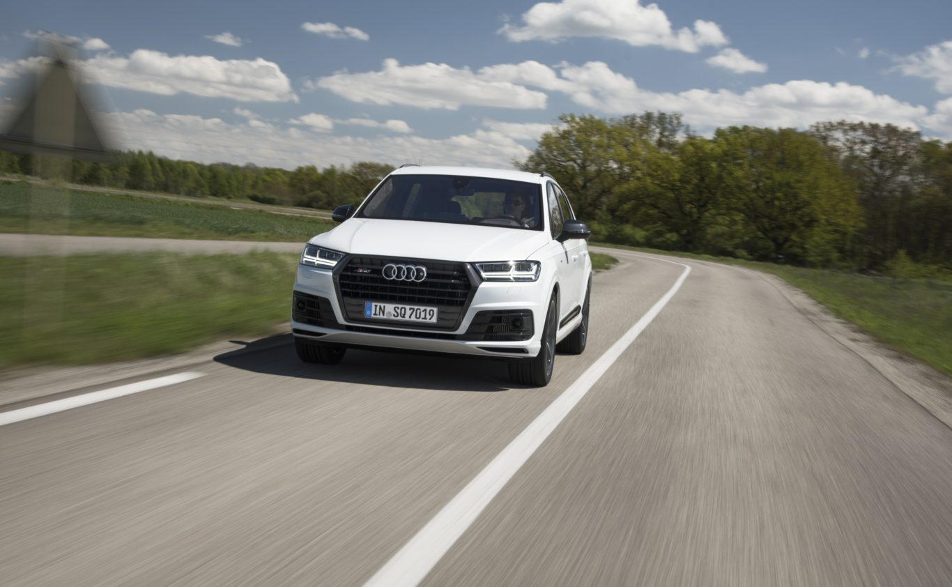 The rate of acceleration that the SQ7 delivers is close to unbelievable