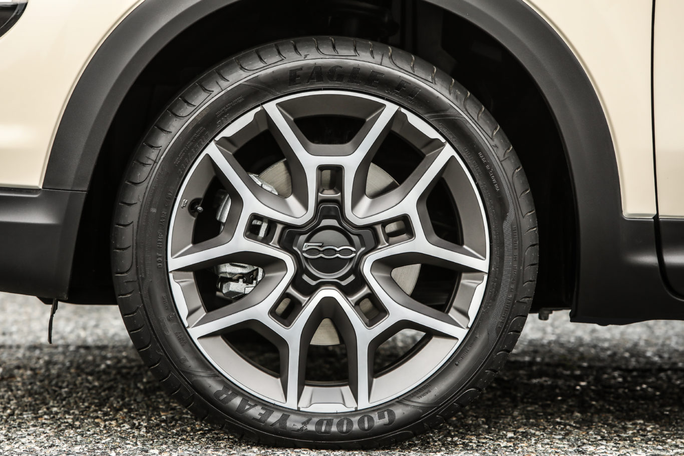 Large alloy wheels give the car plenty of presence