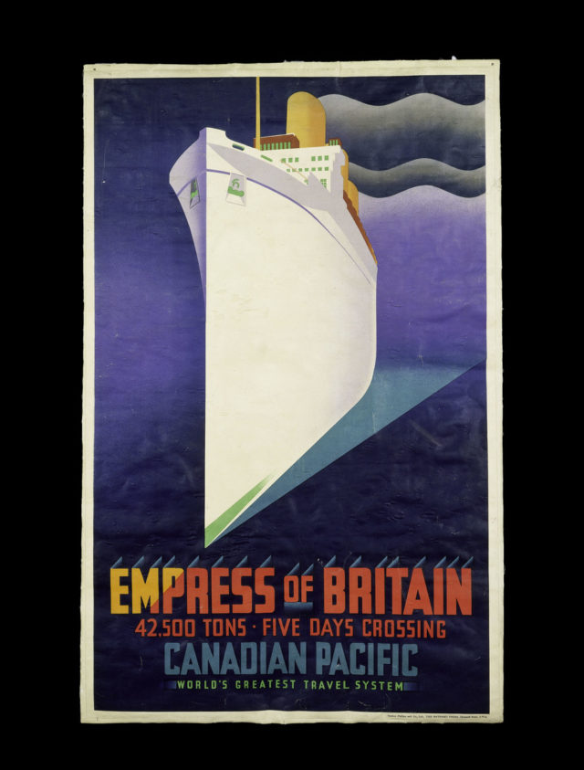 Poster for Canadian Pacific Railways