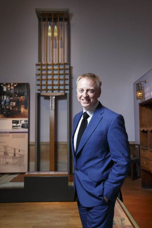V&A Dundee director Philip Long