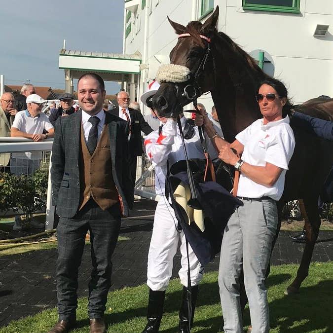 Magic J was a winner at Yarmouth