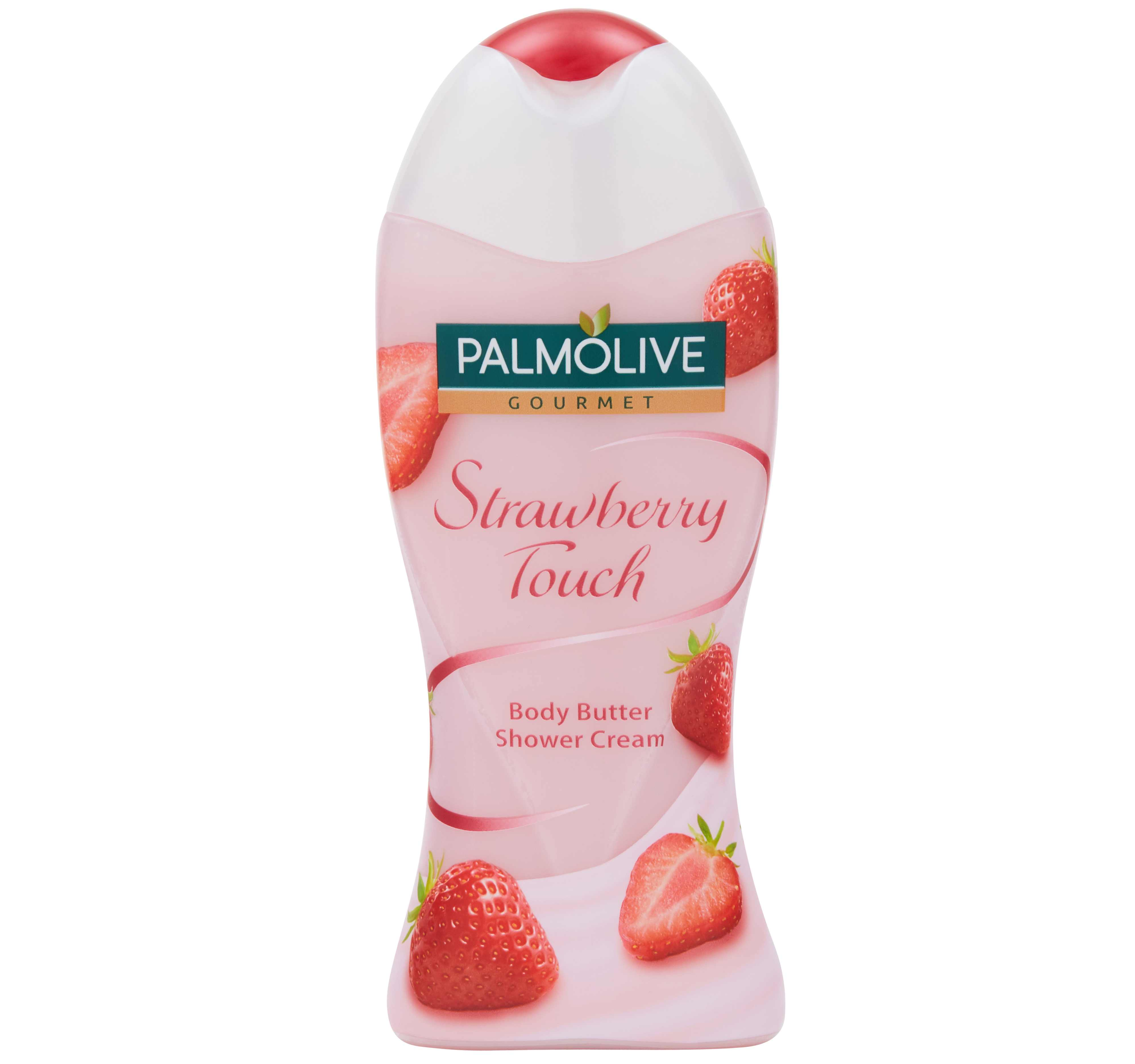 Palmolive Gourmet Strawberry Touch Body Butter Shower Cream