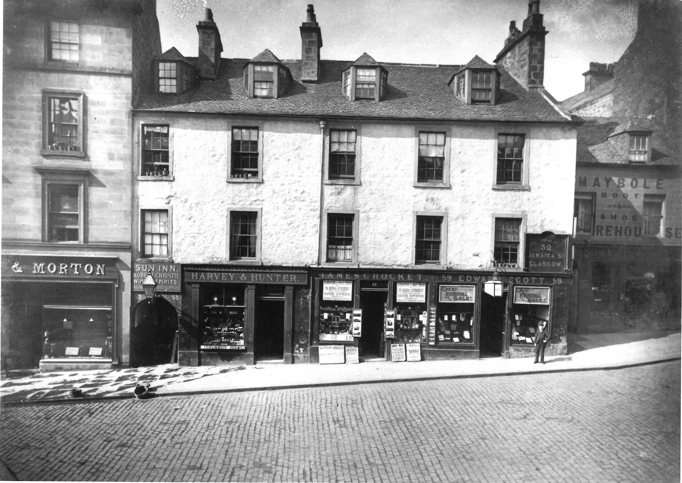 53 to 59 King Street in 1896