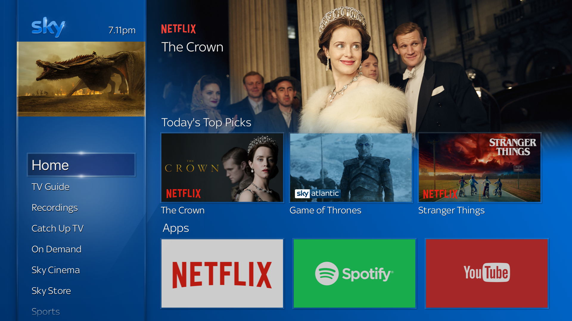 Sky and Netflix join forces with new subscription