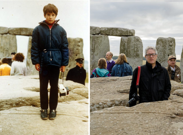 "Ian Roure visited the stones as a child in 1970 and remembers his impression of Stonehenge growing up was it was ""extremely special"" (Ian Roure/English Heritage/PA)"