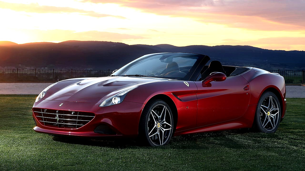 The Ferrari California T car