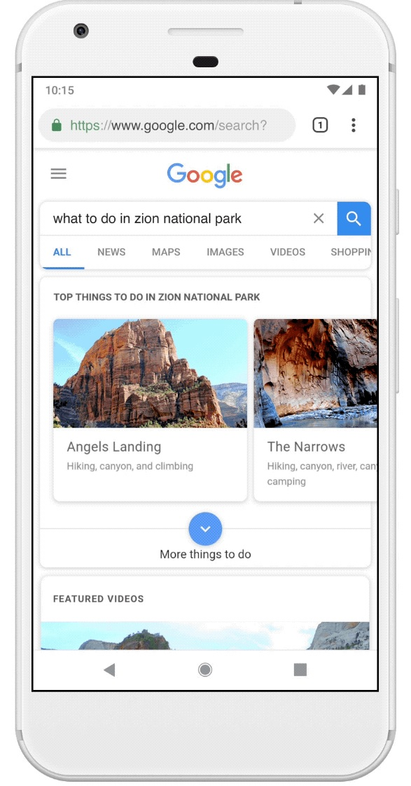 New Google Search updates
