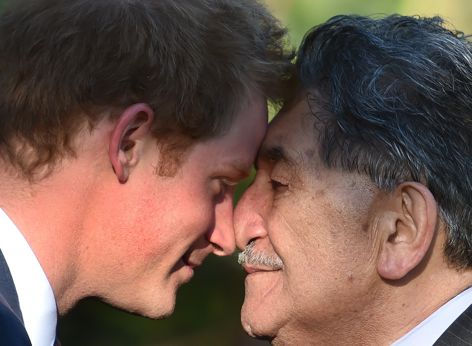 Harry during a welcome ceremony at Government House, in Wellington in 2015