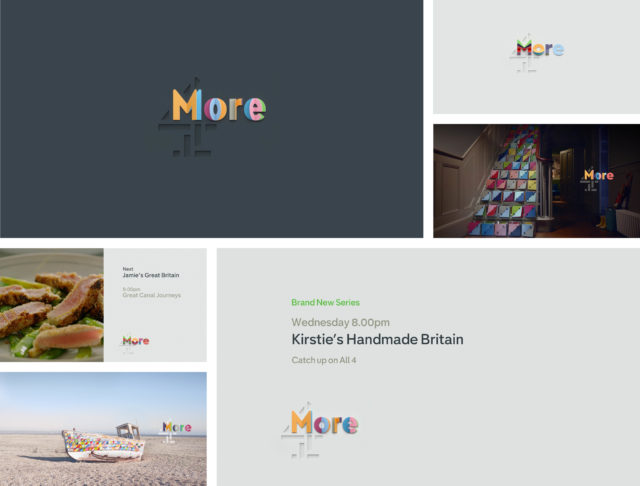 The More4 rebrand