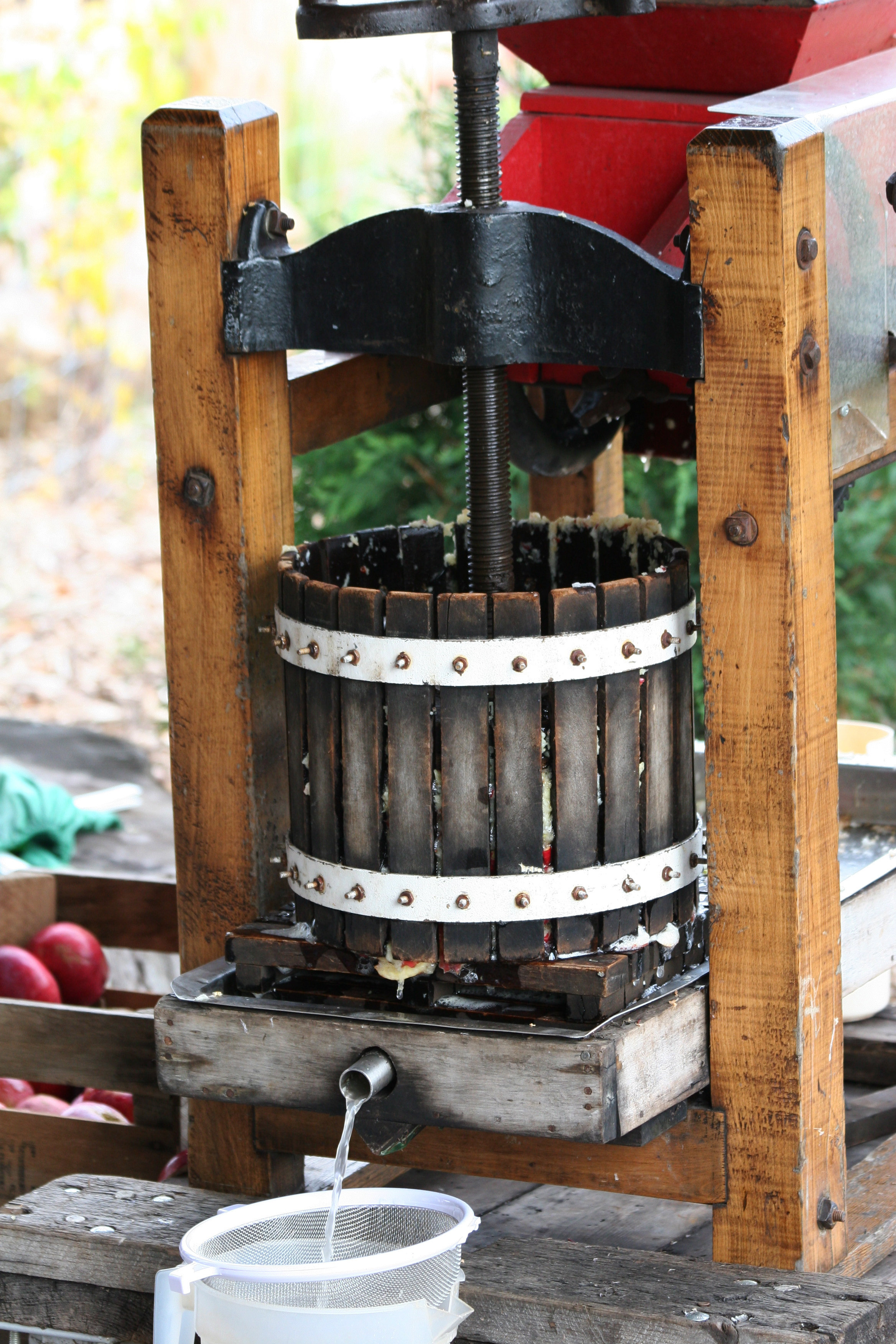 Make delicious juice using an apple press (Thinkstock/PA)