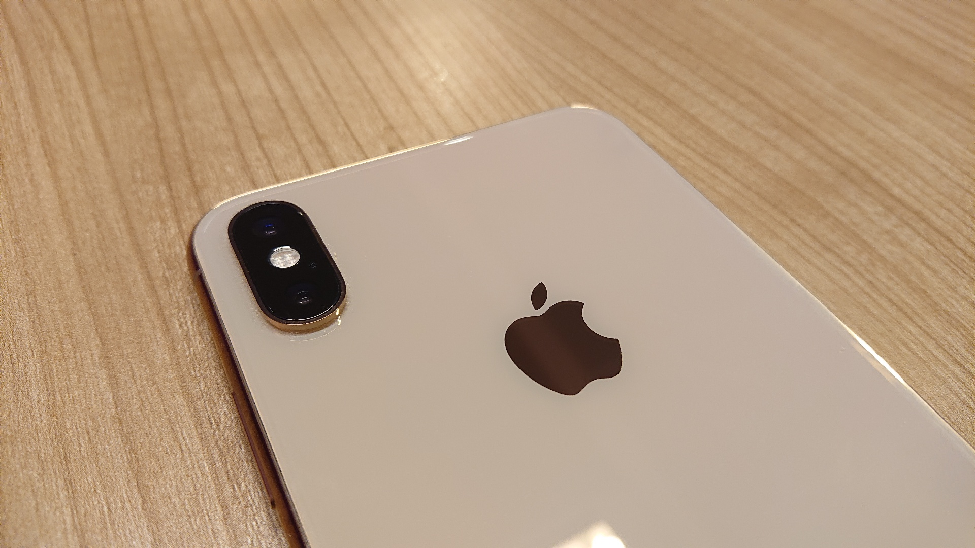 Apple iPhone XS Max review looking at the rear facing camera