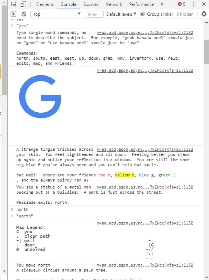 Here is how you can play a secret game in Google Chrome : News on