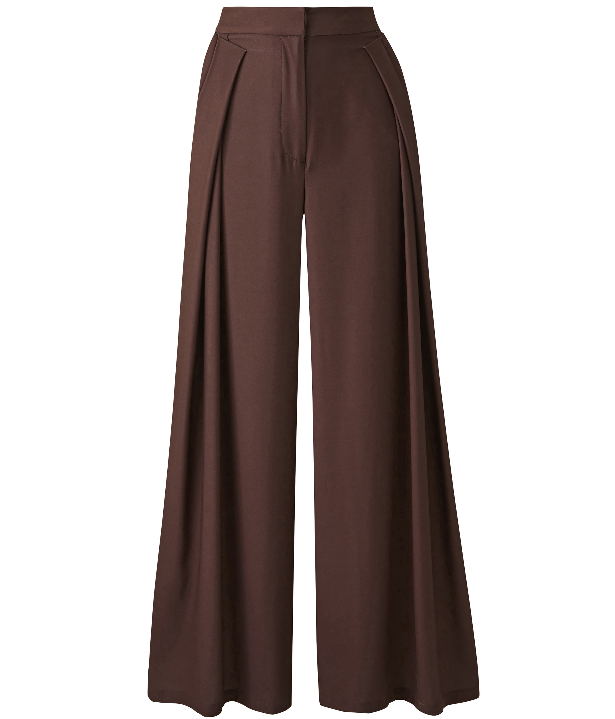 JD Williams Chocolate Wrap Wide Leg Trousers