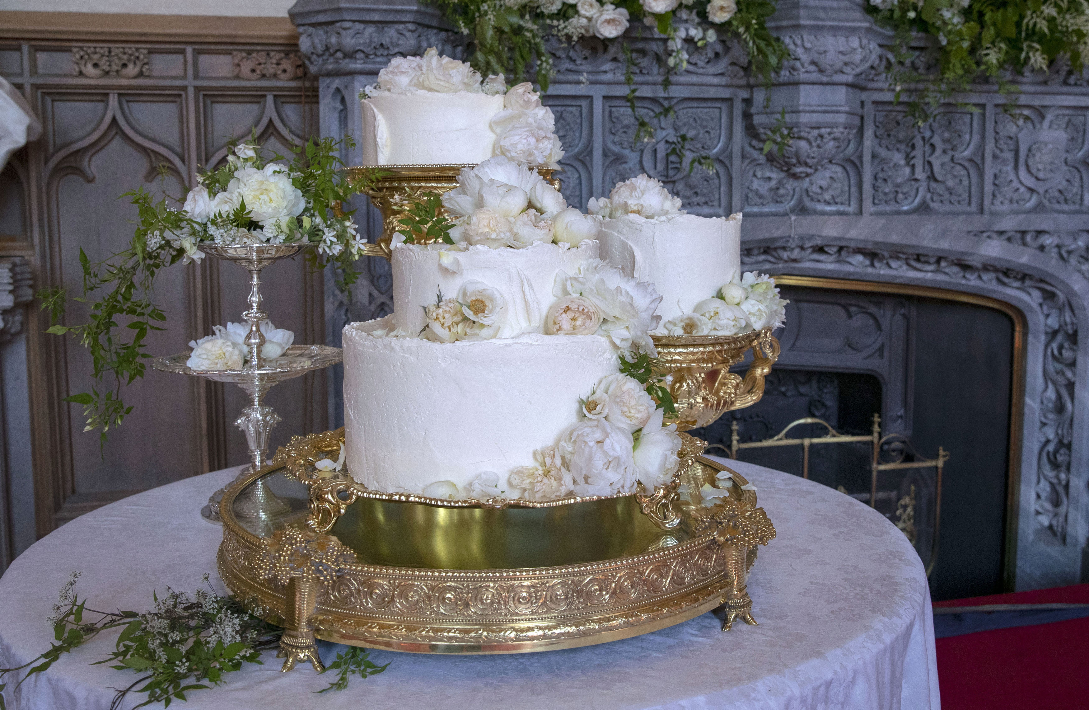 Harry and Meghan's cake