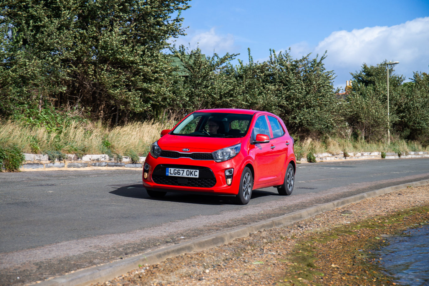 The Picanto is an ideal choice for urban drivers