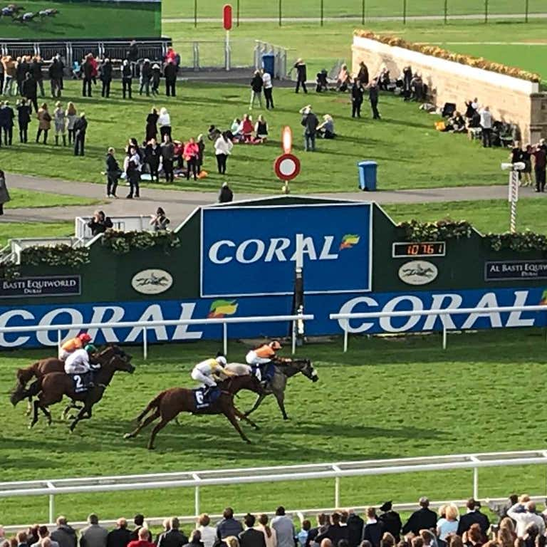 Major Jumbo prevails in the Coral Sprint at York