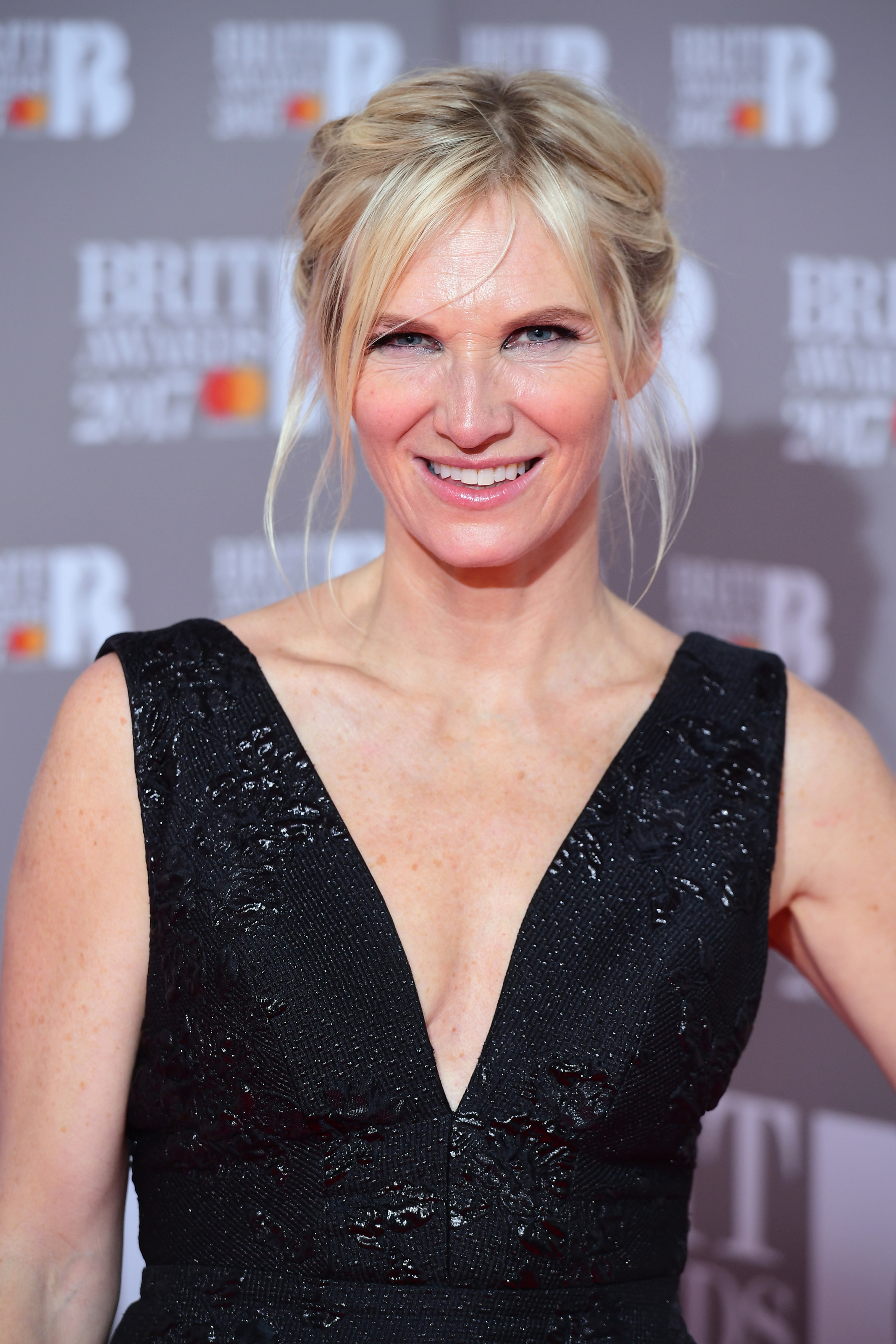 Jo Whiley at the Brit Awards, London, 2017. (Ian West/PA)