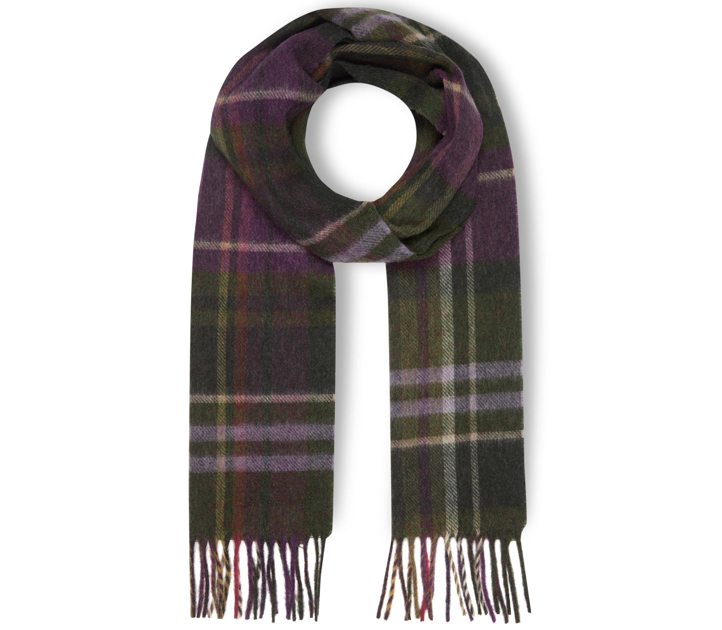 Laura Ashley Moons Wool Check Scarf