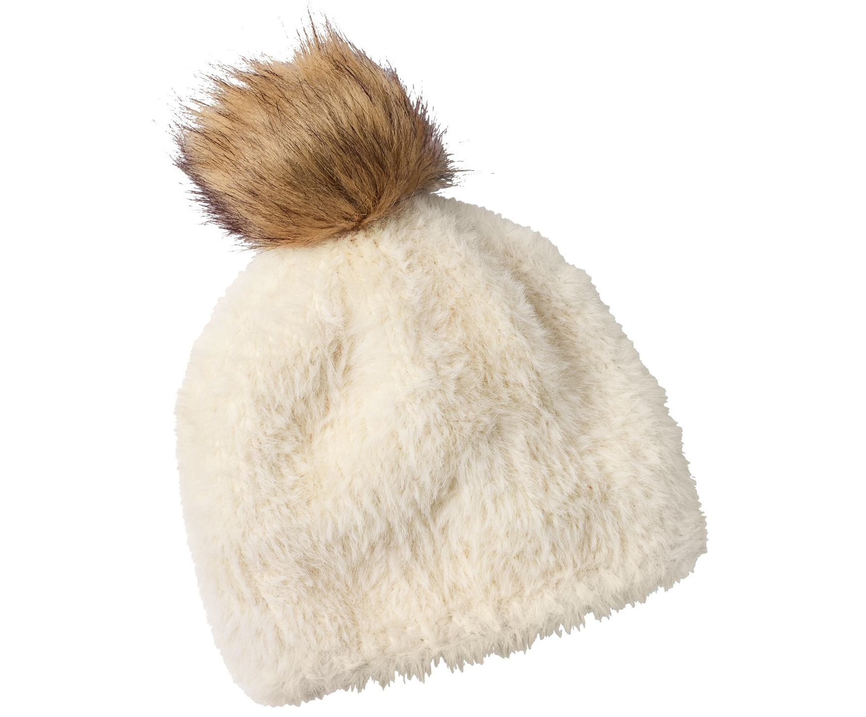 White Stuff Fluffy Bobble Hat