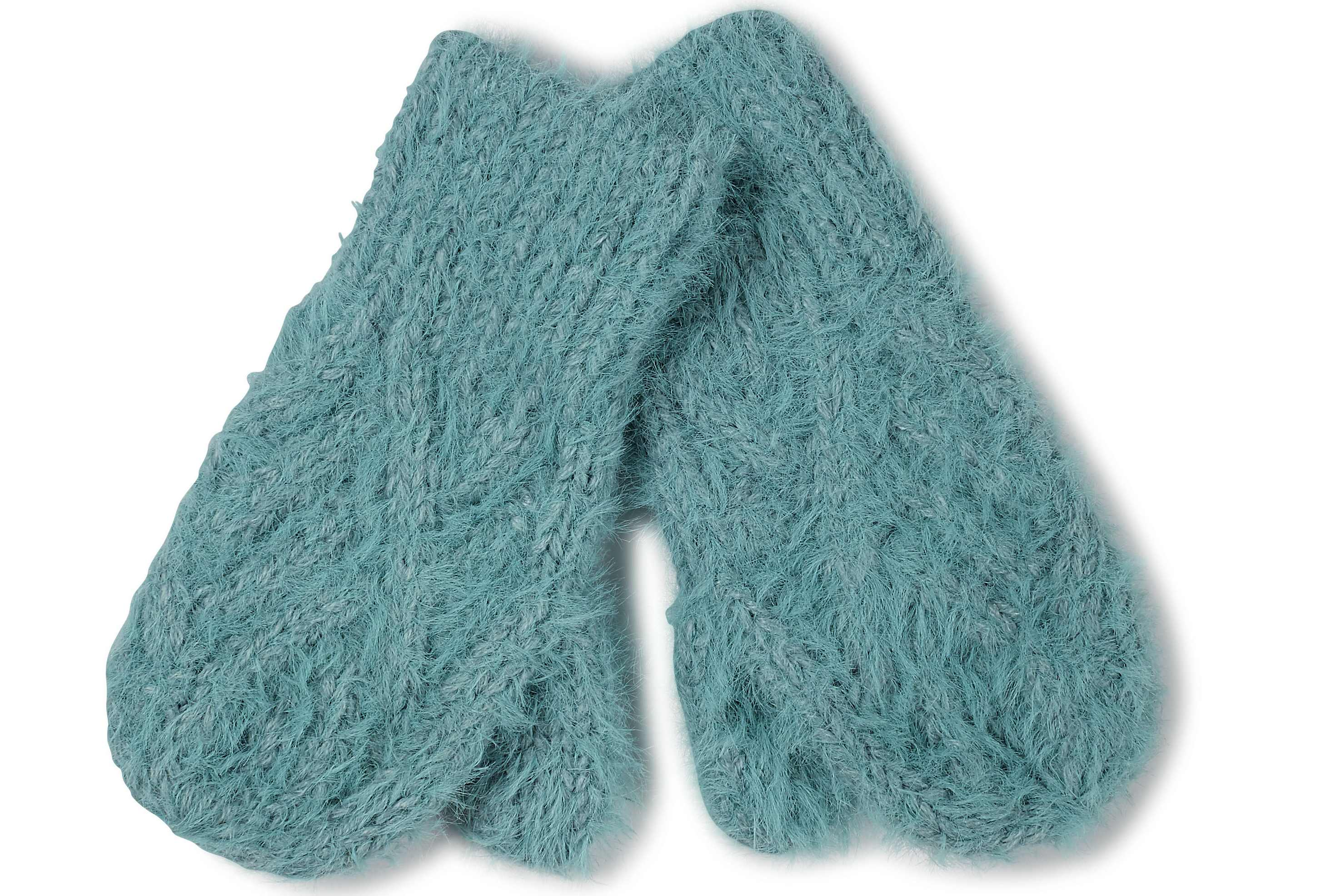 Fat Face Anna Plain Knit Mittens