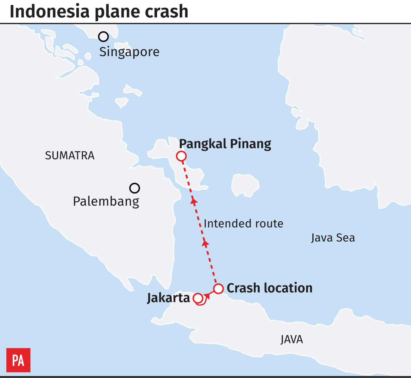 Bid to identify plane crash victims as search continues off ...