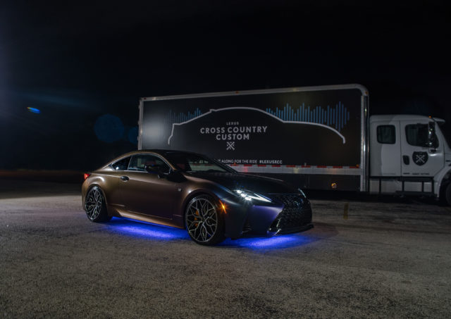 Lexus Brings Wine Dispensing Saloon To Aftermarket Car Show
