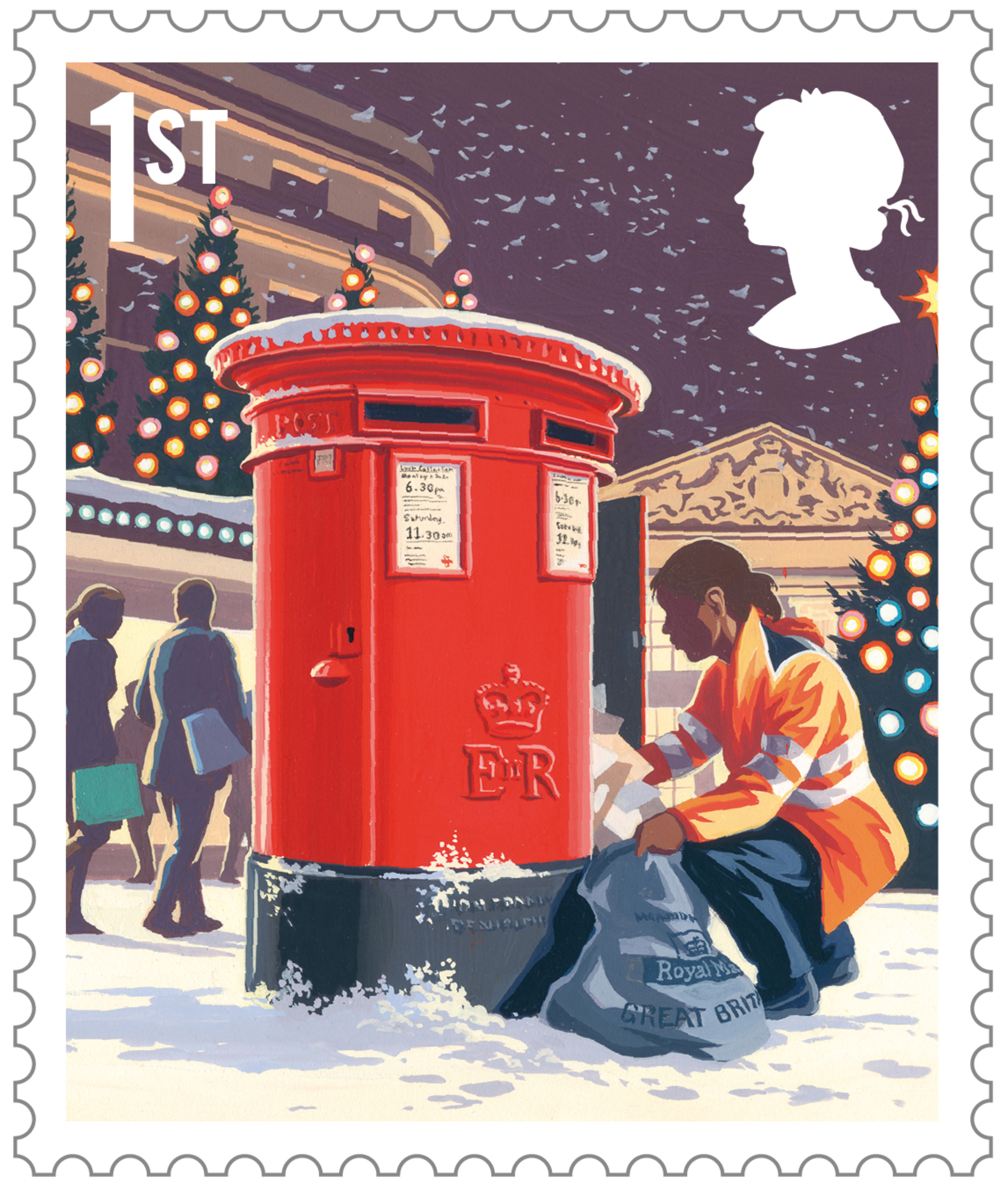 Christmas Stamp Designs Revealed By Royal Mail
