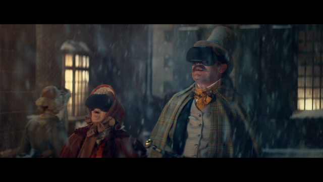 Currys PC World Christmas ad. (Currys PC World/AMV BBDO/PA)