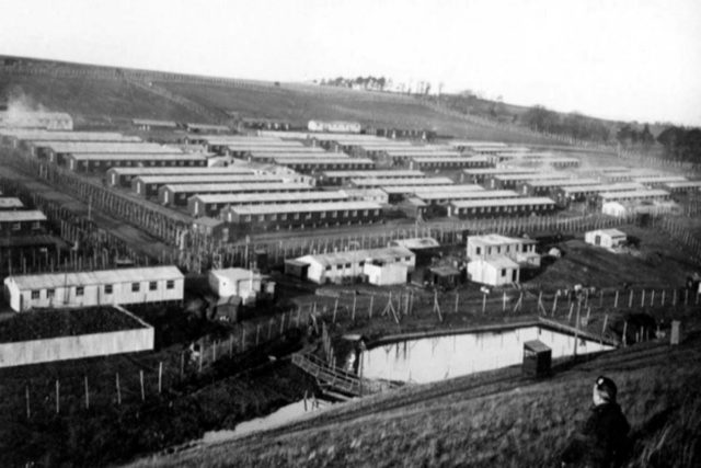 Stobs internment camp