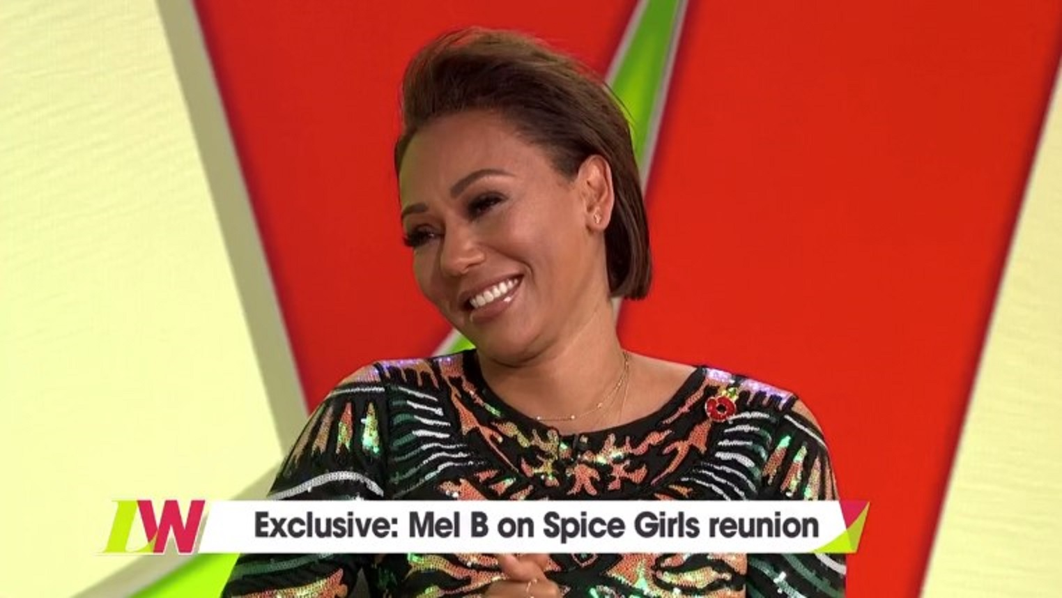 Mel B on Loose Women