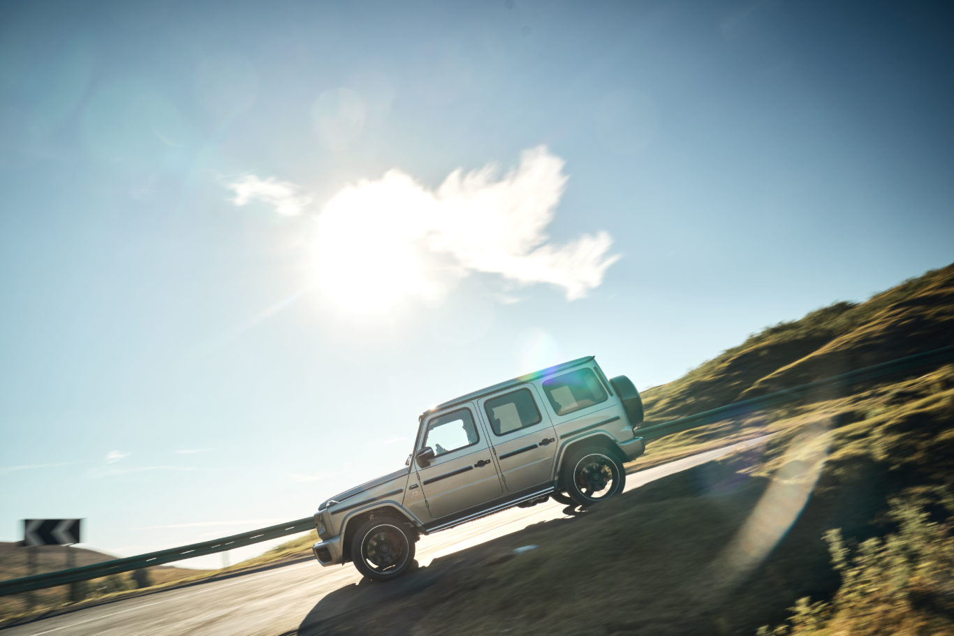 The new G-Class has been sizeably upgraded over the old car