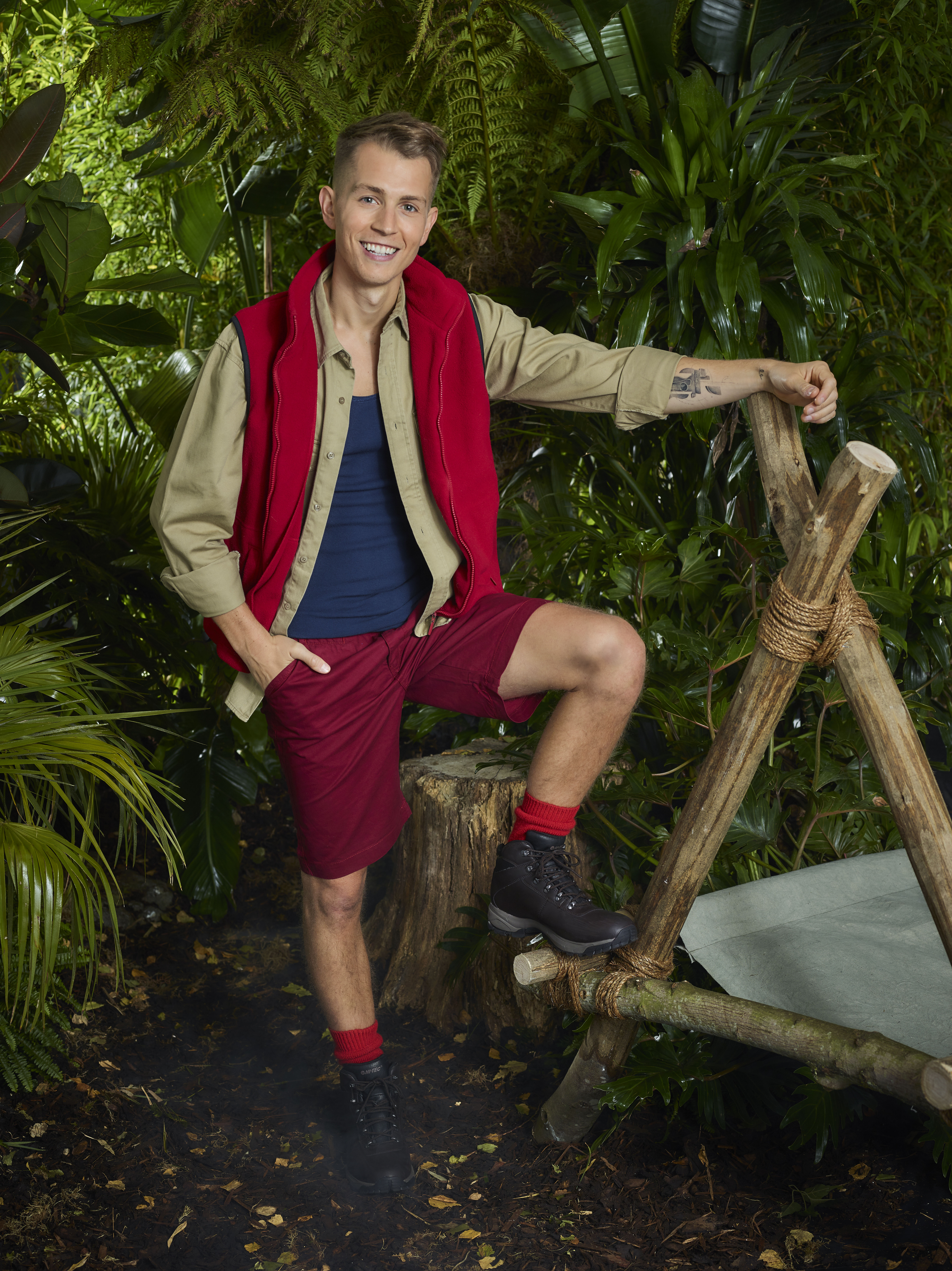 James McVey on I'm A Celebrity