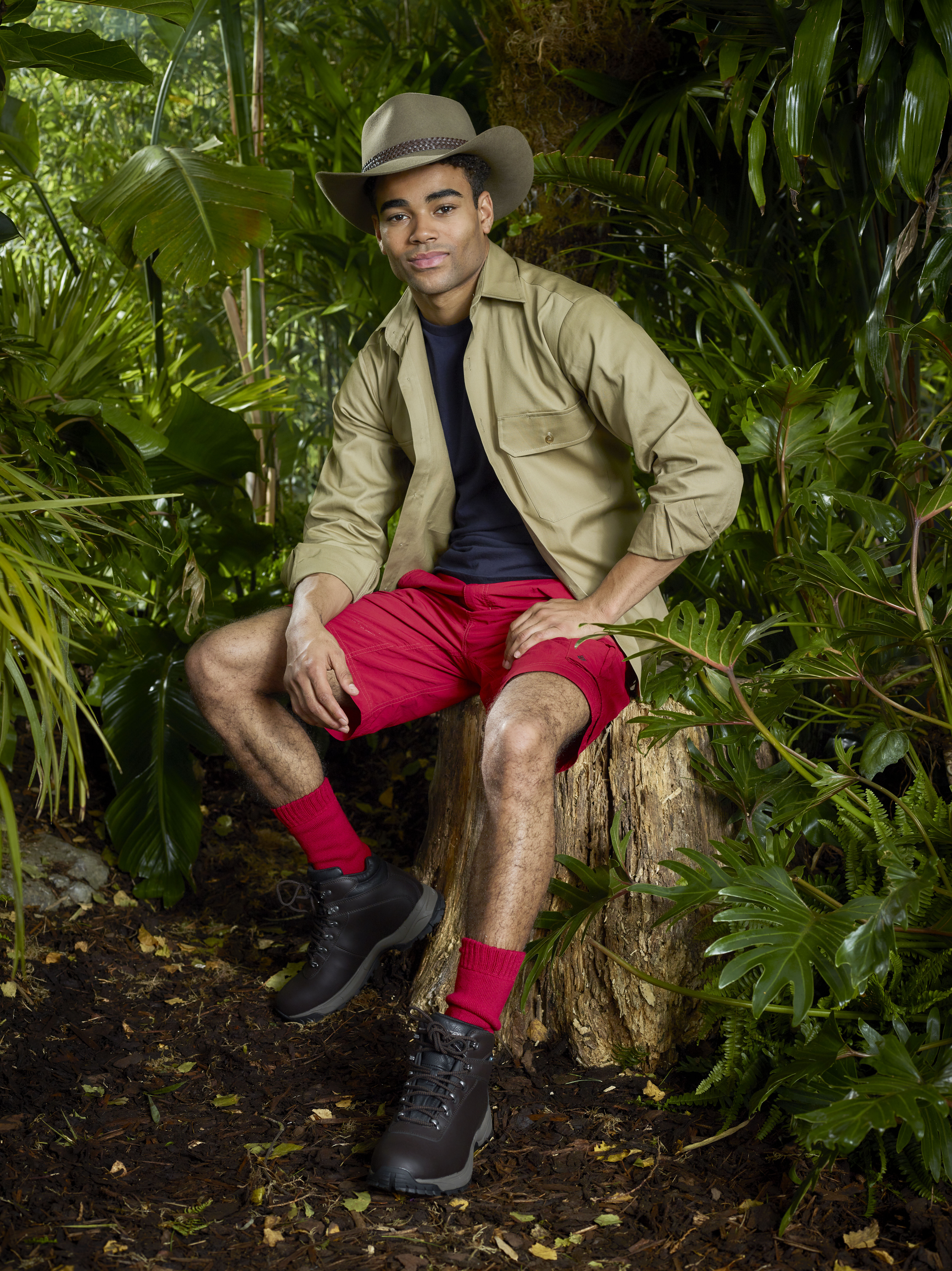 Malique Thompson-Dwyer  on I'm A Celebrity