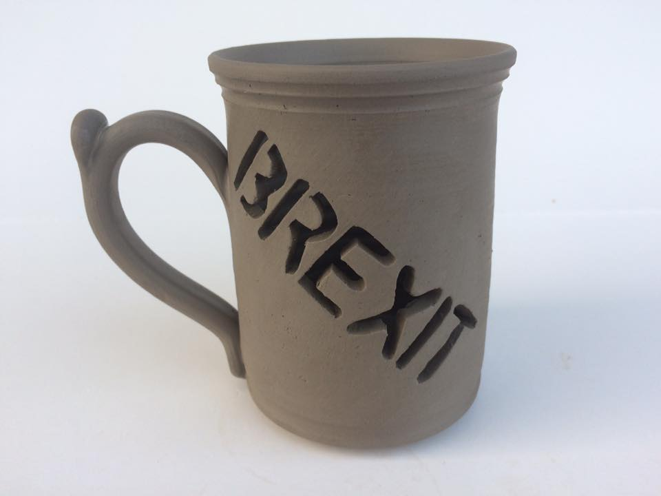 The Brexit-themed mug