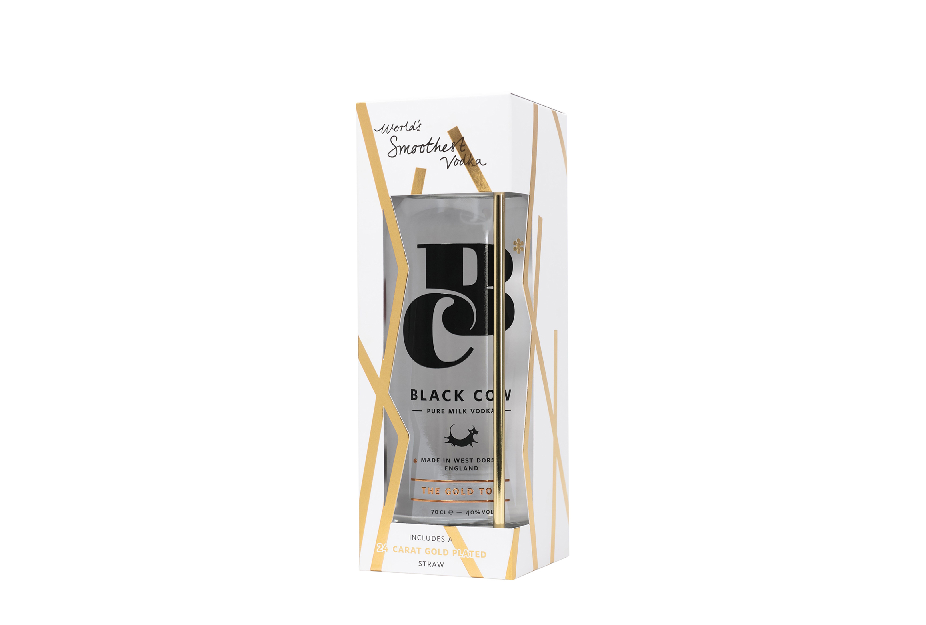 Black Cow Gold gift pack