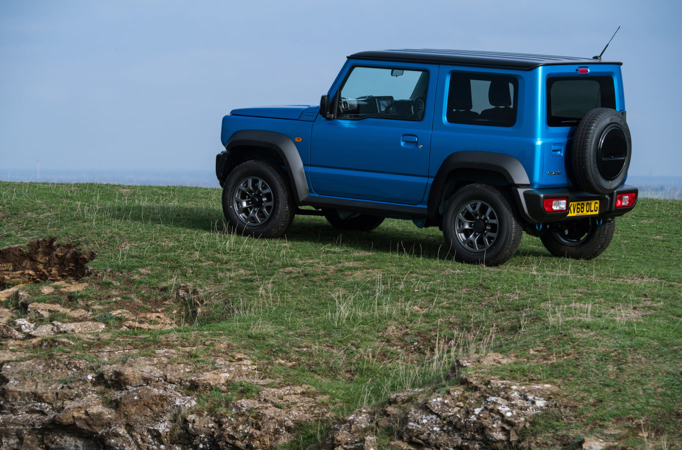 The new Jimny comes with a wealth of standard equipment