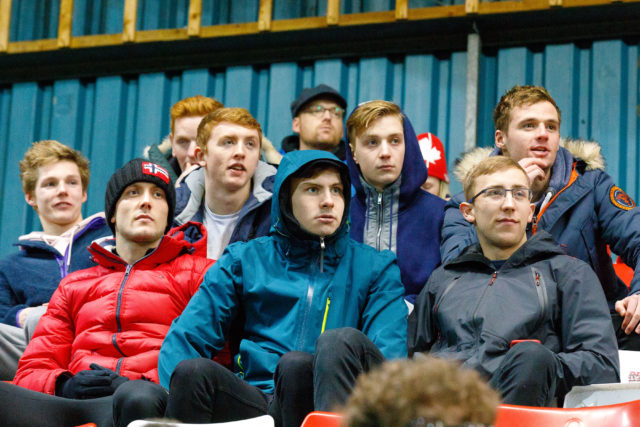 Duncan Scott at football match