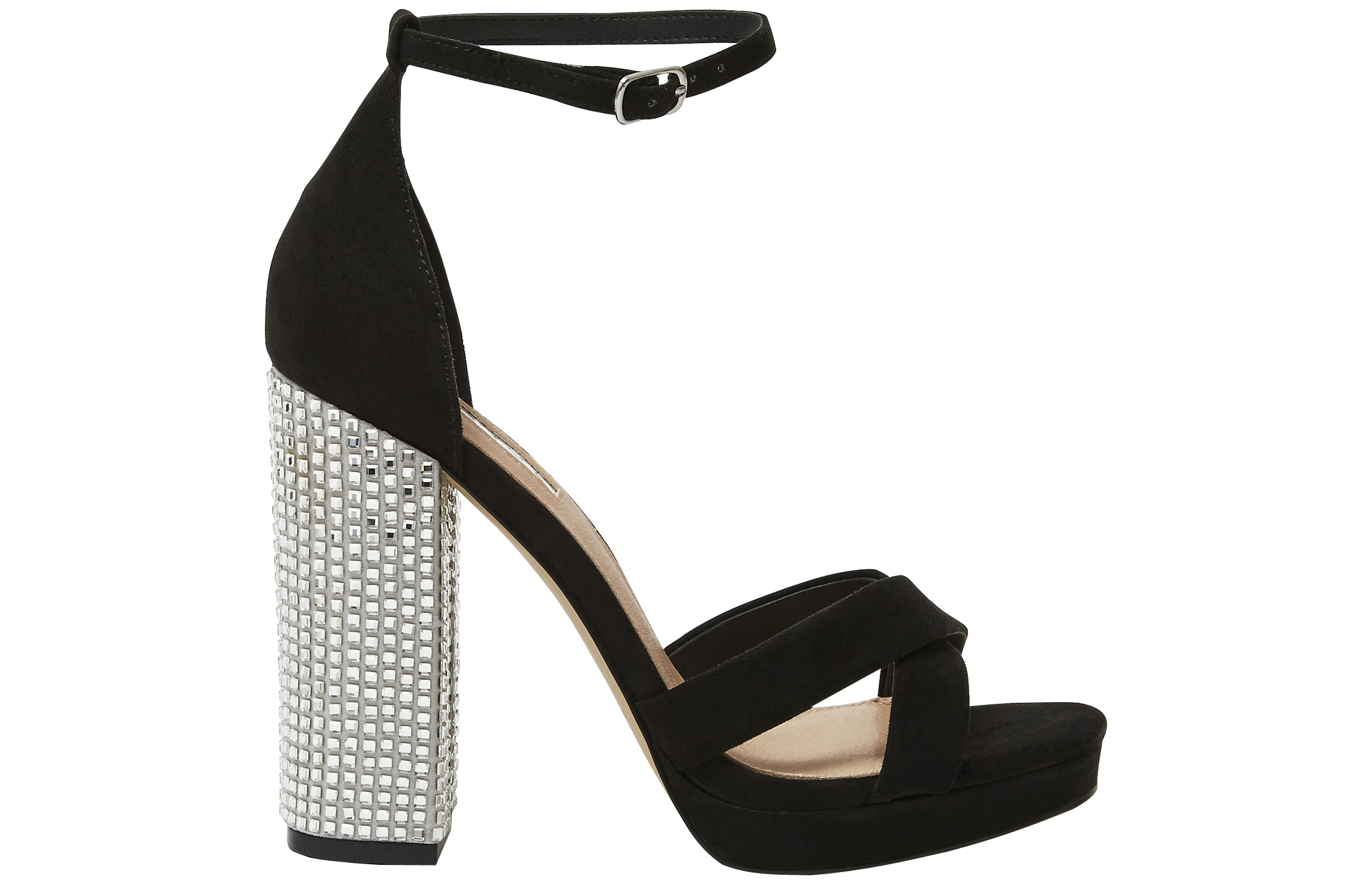 465a75eaa96c Office Hiccup Black Cross Vamp Platforms Office PA). Office Hiccup Black  Cross Vamp Platforms